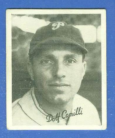 1936 Goudey B/W #.5 Dolph Camilli (Phillies) Baseball cards value