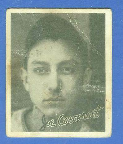 1936 Goudey B/W #.8 Joe Coscarart ROOKIE  (Boston Braves) Baseball cards value