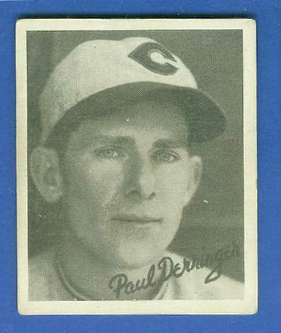 1936 Goudey B/W #11 Paul Derringer (Reds) Baseball cards value