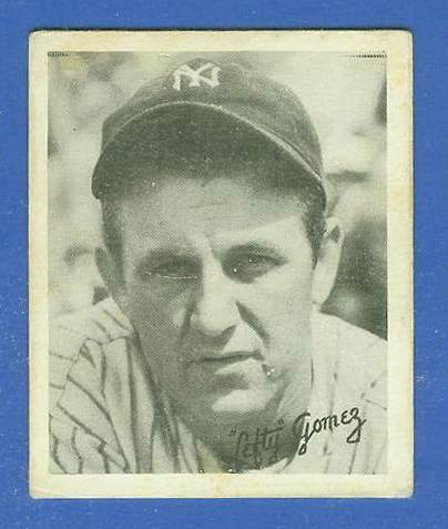 1936 Goudey B/W #14 Lefty Gomez (Yankees, HOF) Baseball cards value