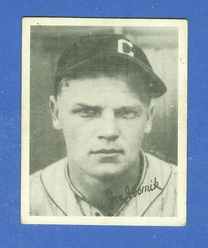 1936 Goudey B/W #23 Joe Vosmik (Indians) Baseball cards value