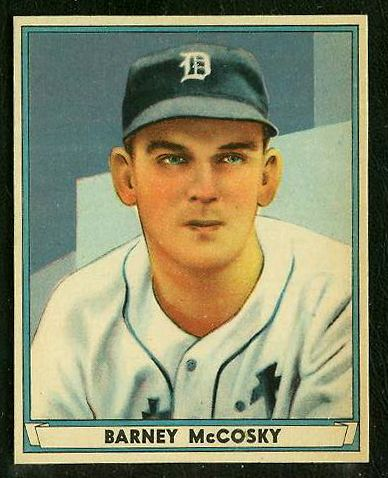 1941 Play Ball #.36 Barney McCosky (Tigers) Baseball cards value