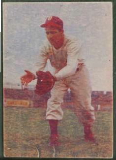 1948 Signal Oil - Melvin 'Dizz' Duezabou (Oakland Oaks) Baseball cards value