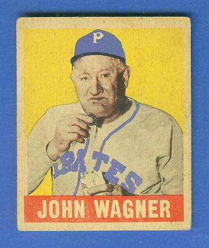 1948 Leaf #70 John 'Honus' Wagner (Pirates) Baseball cards value