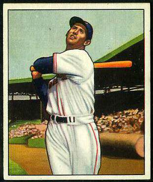 1950 Bowman #.98 Ted Williams (Red Sox) Baseball cards value
