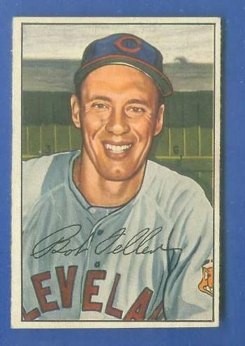 1952 Bowman #.43 Bob Feller (Indians) Baseball cards value