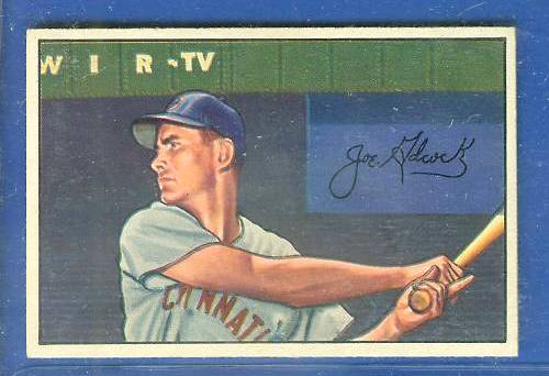 1952 Bowman #.69 Joe Adcock (Reds) Baseball cards value