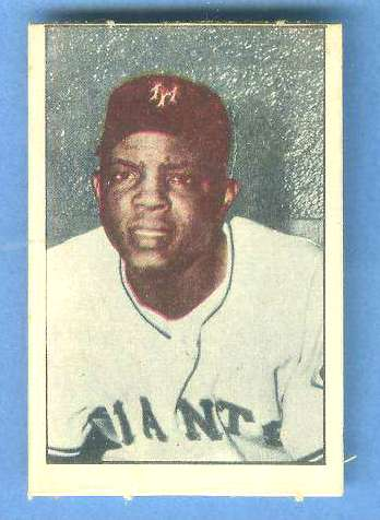 1952 Berk Ross #39 WILLIE MAYS (Giants) Baseball cards value