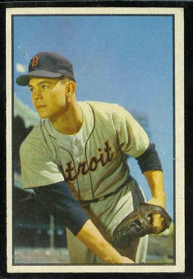 1953 Bowman Color #..4 Art Houtteman (Tigers) Baseball cards value