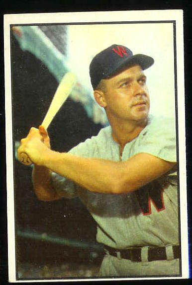 1953 Bowman Color #109 Ken Wood (Senators) Baseball cards value