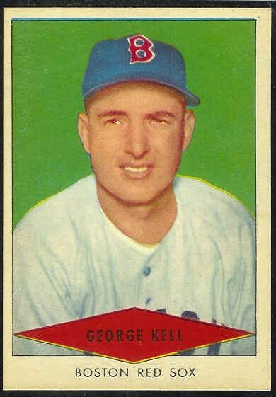 1954 Red Heart - George Kell (Red Sox) Baseball cards value