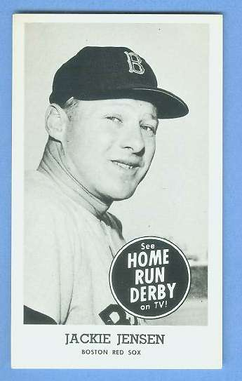 Jackie Jensen - 1959 HOME RUN DERBY Baseball cards value