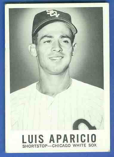 1960 Leaf #..1 Luis Aparicio (White Sox) Baseball cards value