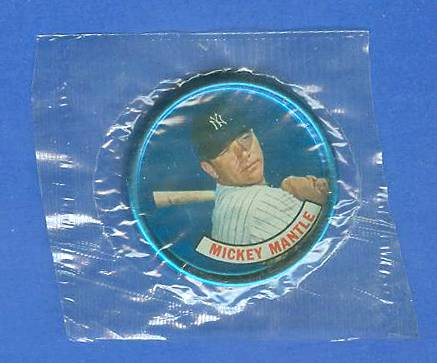 1965 Old London - MICKEY MANTLE - Still SEALED in original CELLOPHANE !!! Baseball cards value