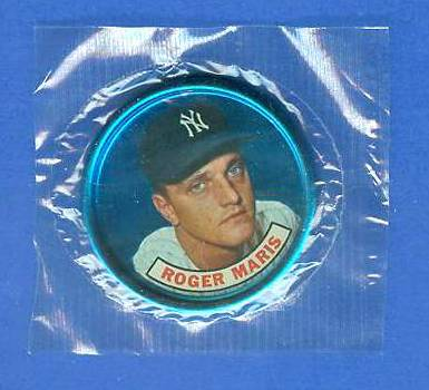 1965 Old London - ROGER MARIS - Still SEALED in original CELLOPHANE !!! Baseball cards value
