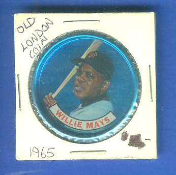 1965 Old London - WILLIE MAYS [#a] (Giants) Baseball cards value