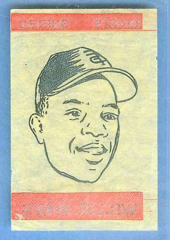 1965 Topps Transfer - WILLIE MAYS (Giants) Baseball cards value