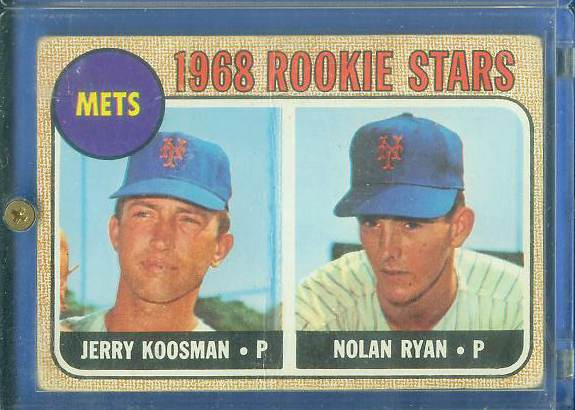 1968 Topps #177 Nolan Ryan ROOKIE (Mets) Baseball cards value