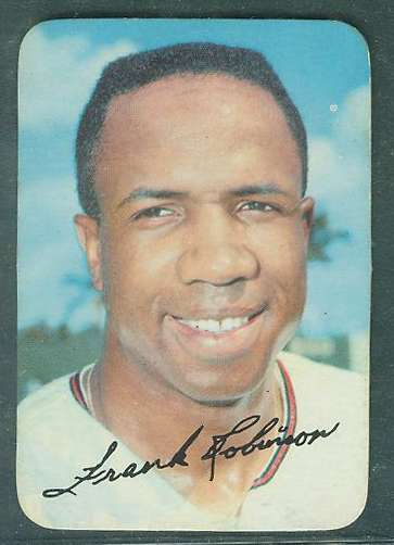 1969 Topps SUPER #.2 Frank Robinson (Orioles) Baseball cards value