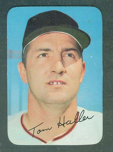 1969 Topps SUPER #47 Tom Haller (Giants) Baseball cards value