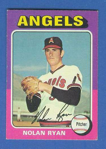 1975 Topps MINI #500 Nolan Ryan [#bsc] (Angels) Baseball cards value