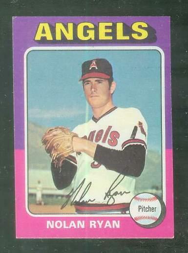 1975 Topps MINI #500 Nolan Ryan [#c] (Angels) Baseball cards value