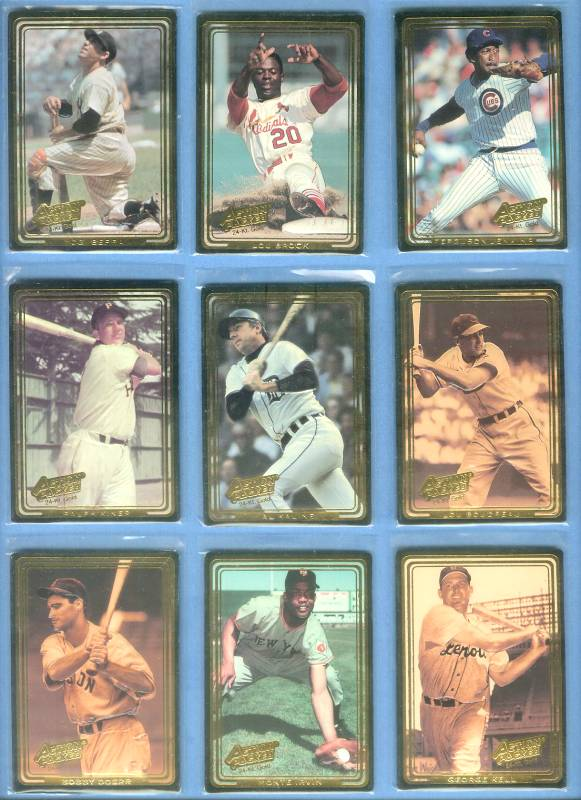 Lou Brock - 1992 Action Packed 24-KARAT GOLD #.2G Baseball cards value