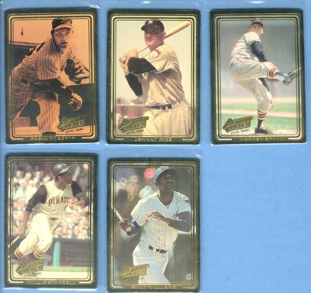 Billy Williams - 1992 Action Packed 24-KARAT GOLD #18G Baseball cards value
