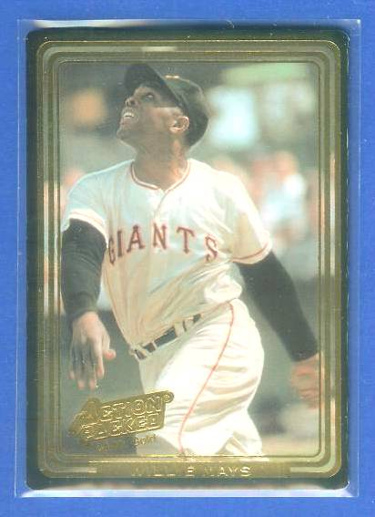 WILLIE MAYS - 1992 Action Packed 24-KARAT GOLD #.14 (Giants) Baseball cards value