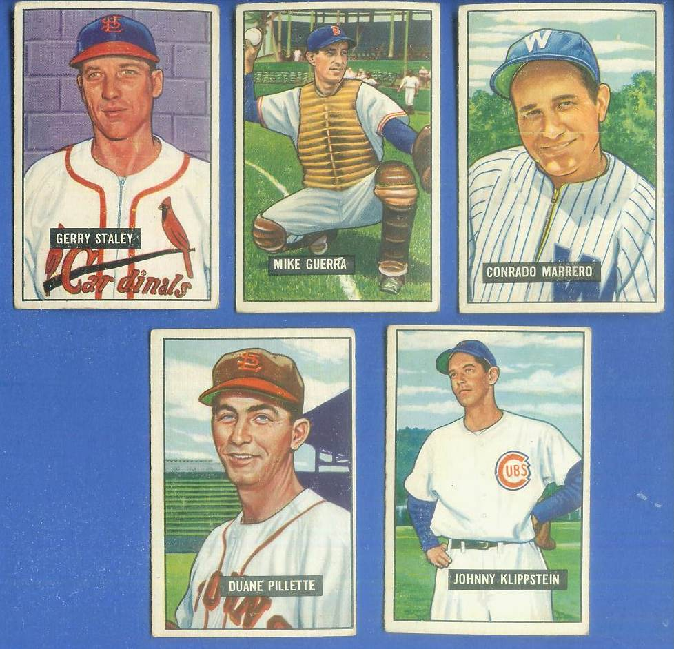 1951 Bowman #206 Conrado Marrero (Senators) Baseball cards value