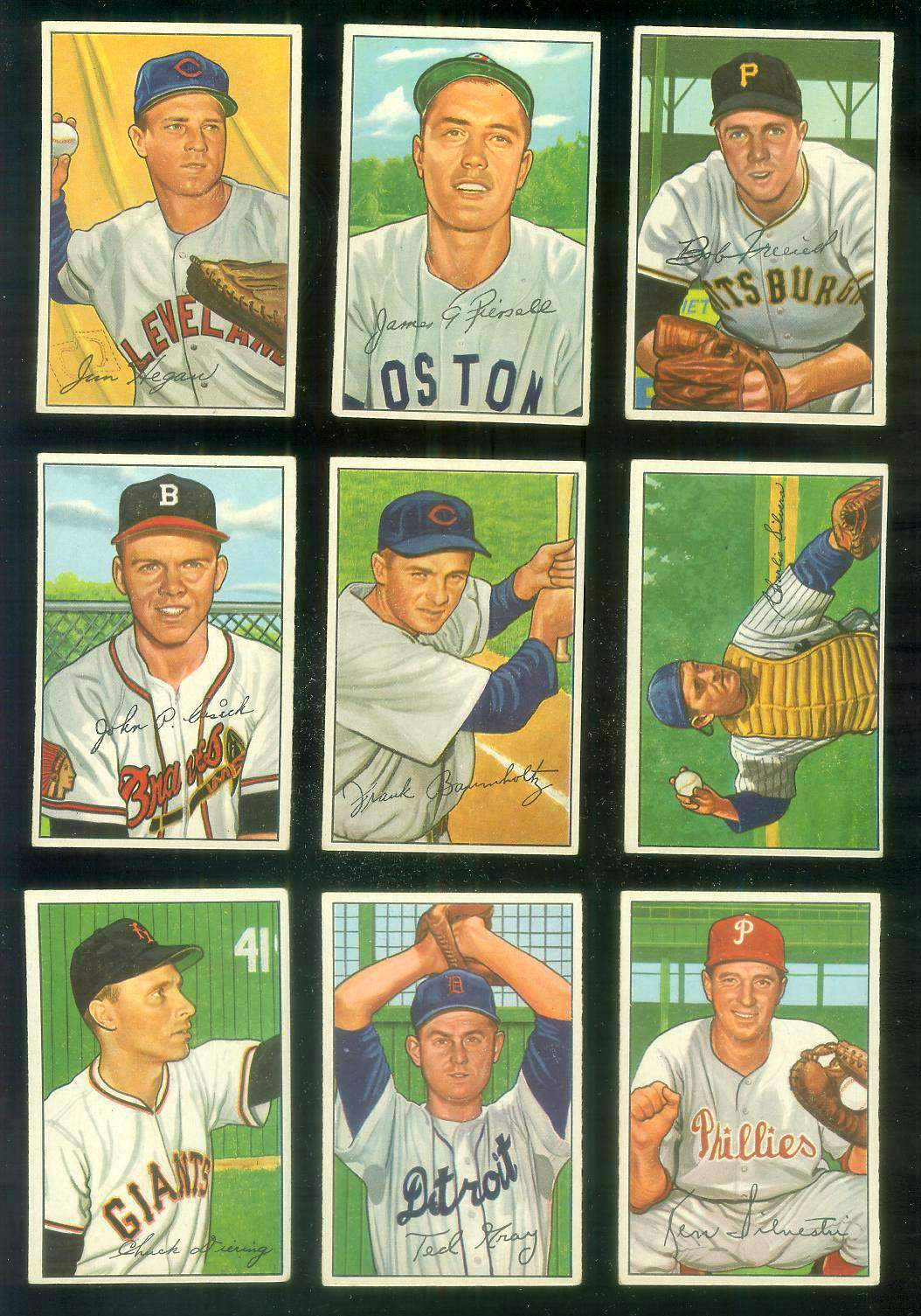 1952 Bowman #191 Bob Friend ROOKIE [#x] (Pirates) Baseball cards value