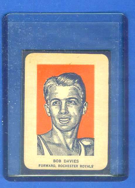 1952 Wheaties #.6A Bob Davies PORTRAIT [#a] (Basketball) Baseball cards value