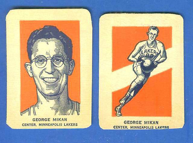 1952 Wheaties #21A George Mikan PORTRAIT [#a] (Basketball) Basketball cards value