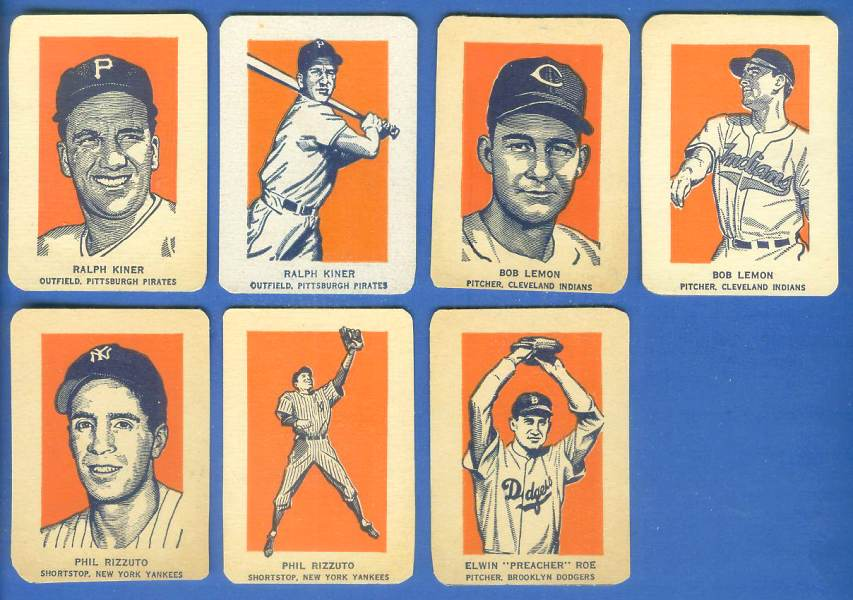 1952 Wheaties #26B Preacher Roe ACTION (Dodgers) Baseball cards value