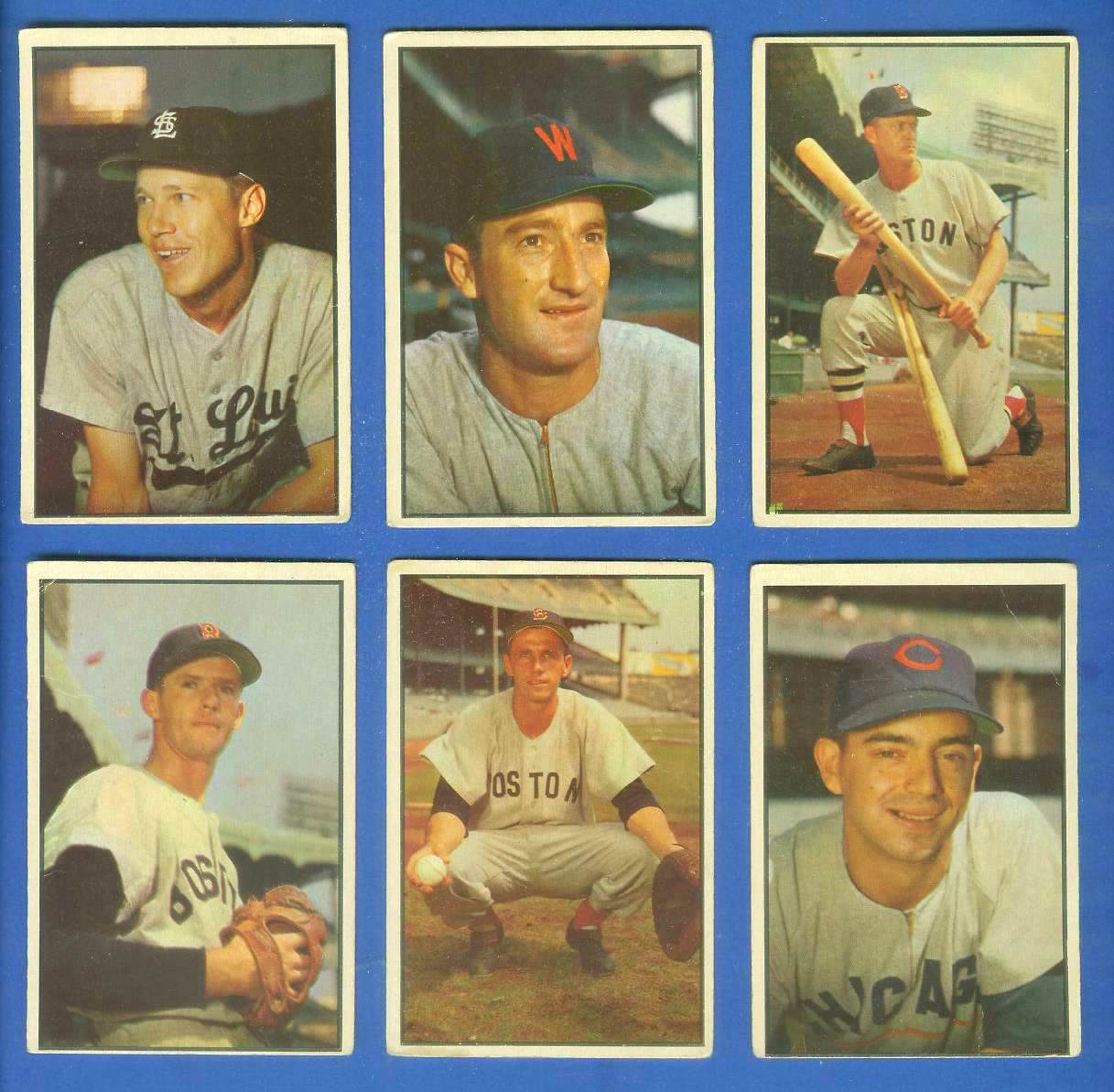 1953 Bowman Color #.41 Sammy White [#sc] (Red Sox) Baseball cards value