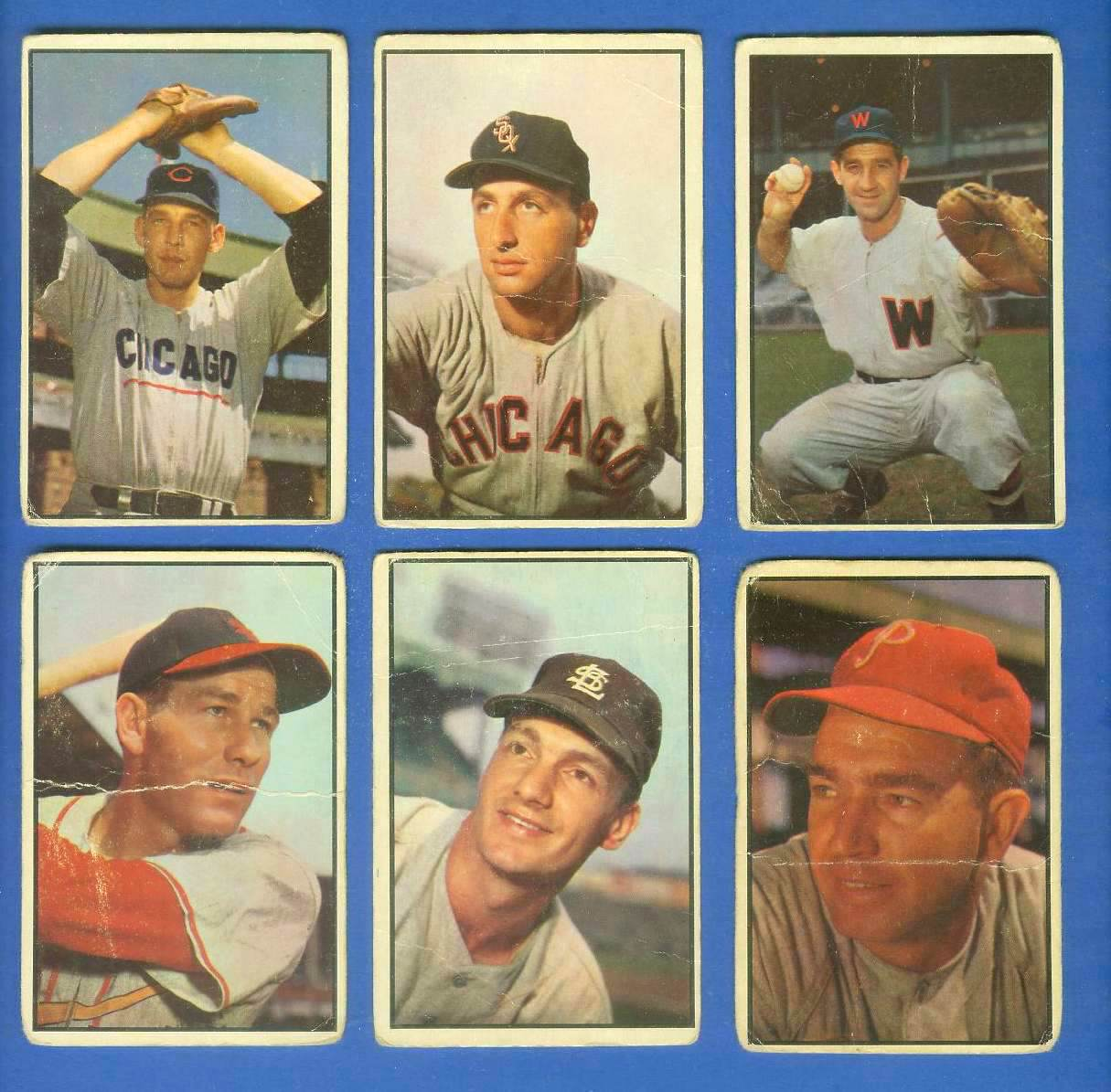1953 Bowman Color #.75 Saul Rogovin (White Sox) Baseball cards value