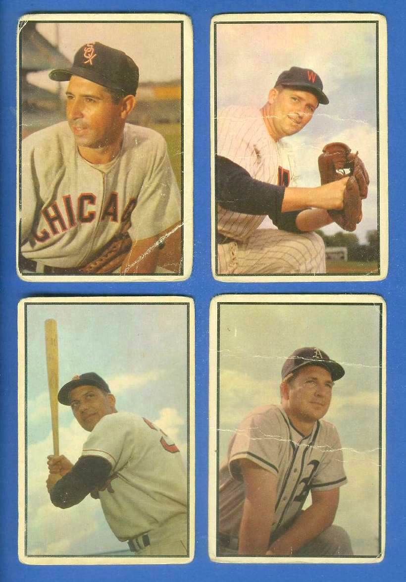 1953 Bowman Color #137 Sam Dente (White Sox) Baseball cards value