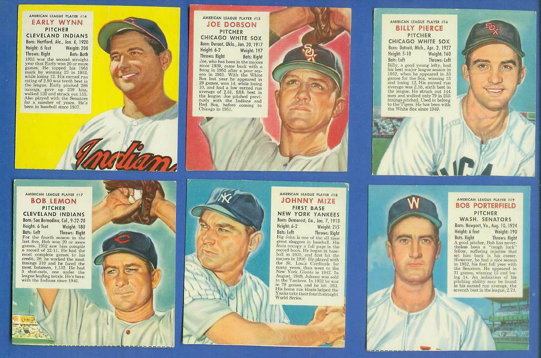 1953 Red Man #AL17 Bob Lemon (Indians) Baseball cards value