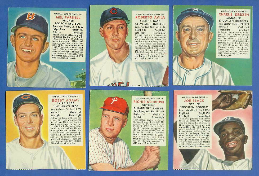 1953 Red Man #NL.3 Richie Ashburn (Phillies) Baseball cards value