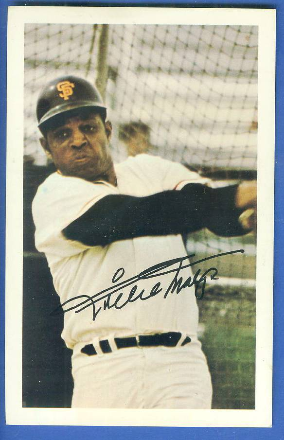 1971 Ticketron - WILLIE MAYS Baseball cards value
