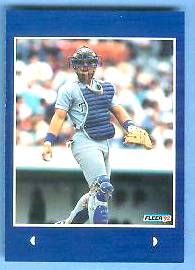 #12 Ivan Rodriguez - 1992 Fleer Rookie Sensations PROOF Baseball cards value