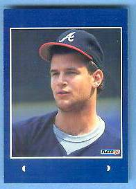 #15 Mark Wohlers - 1992 Fleer Rookie Sensations PROOF Baseball cards value