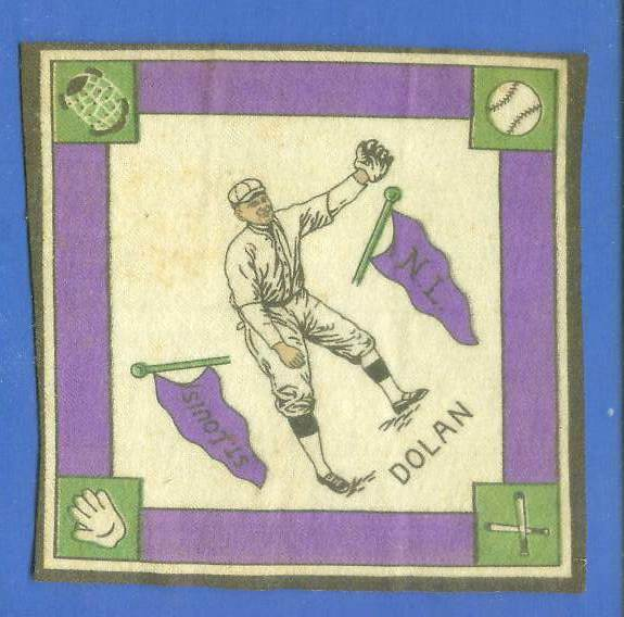 1914 B18 Blankets #84A Cozy Dolan (purple paths) (Cardinals) Baseball cards value