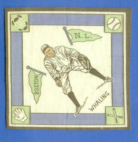 1914 B18 Blankets #55A Bart Whaling (white infield) (Boston Braves) Baseball cards value