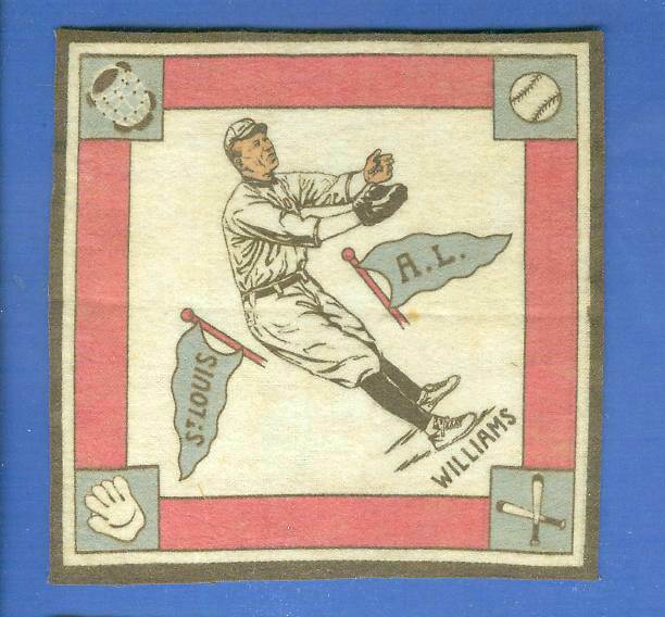 1914 B18 Blankets #37A Gus Williams (red paths) (Cardinals) Baseball cards value