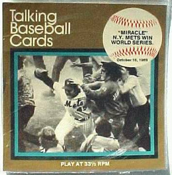 #11 Miracle Mets - 1970's 'Great Moments..Baseball' 33-1/3 Record UNPLAYED Baseball cards value