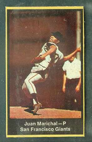1969 Nabisco Flakes - Juan Marichal [thin border variation] (Giants) Baseball cards value