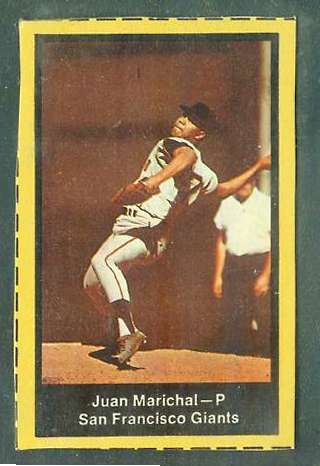 1969 Nabisco Flakes - Juan Marichal [thick border variation] (Giants) Baseball cards value