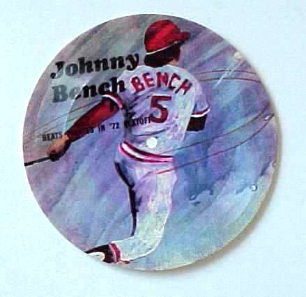 1970's Sports Challenge Record - JOHNNY BENCH Baseball cards value