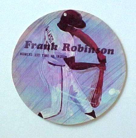 1970's Sports Challenge Record - FRANK ROBINSON Baseball cards value
